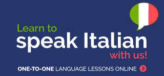 Learn to speak italian with us