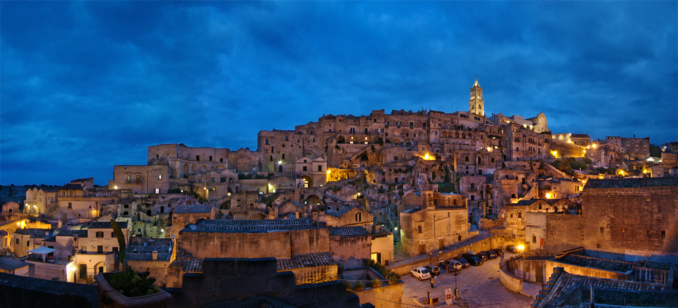old town centre of Matera