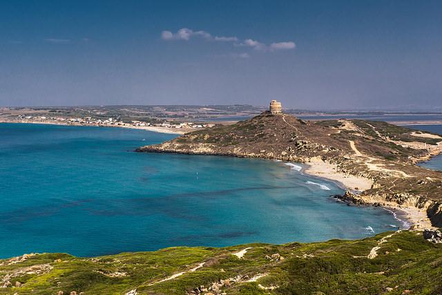 Sardinia's central west coastline