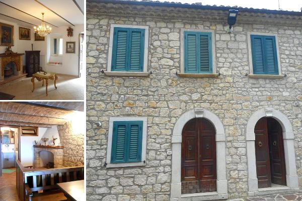 Restored house in Roccavivara