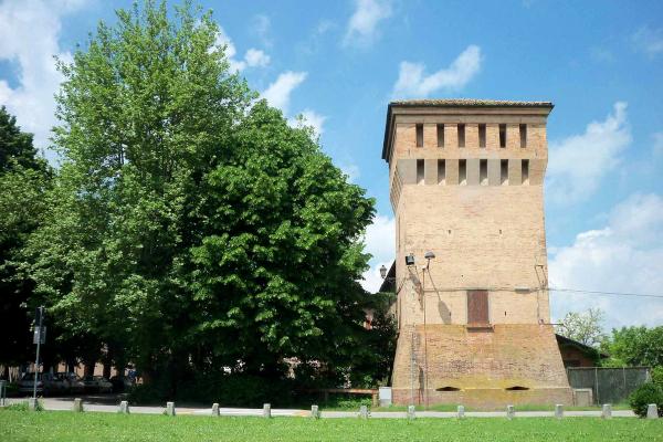 Ancient tower near Bologna