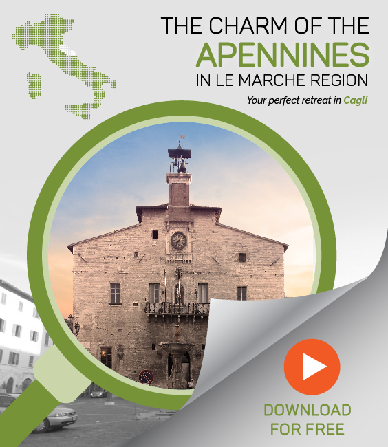 The charm of the Appennines in Le Marche region