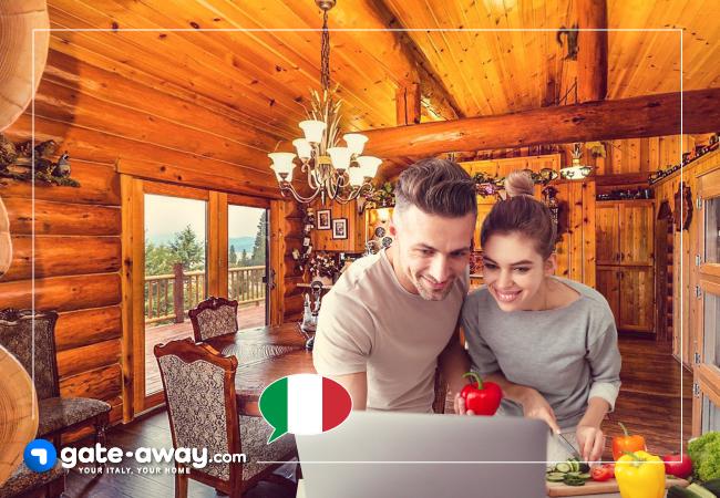 Try following a recipe in Italian